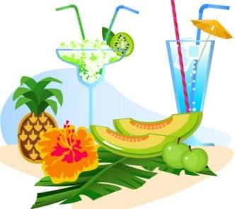 Vector Cartoon Happy Summer Day Design Elements 07