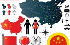 Vector China Information Graphic Elements