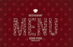 Vector Clean Restaurant Menu Design Template 03