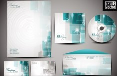 Vector Corporate Identity Design Template 01