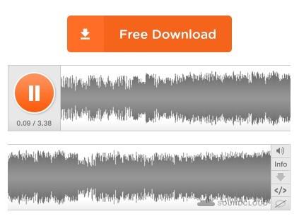 PSD Soundcloud Mockup