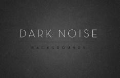Dark Noise Background Textures