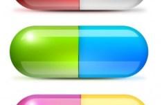 3D Glossy Pharmaceutical Capsules