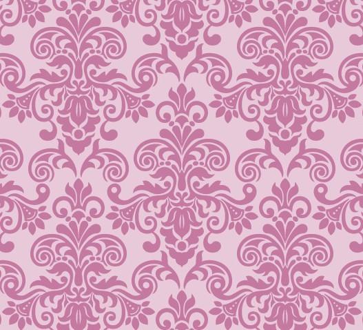 free pink vintage floral pattern background 05 titanui