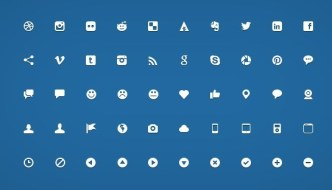 Handcrafted Micro Web Icon Set PSD