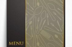 Classical Vector Restaurant Menu Template 02