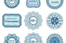 Set Of Vector Guilloche Rosettes Quality Decorative Elements 04
