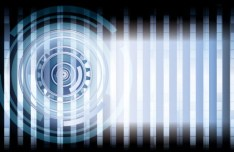 Dark Abstract Technology Vector Background 01