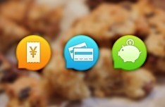 Coupon App Icon Bubbles PSD