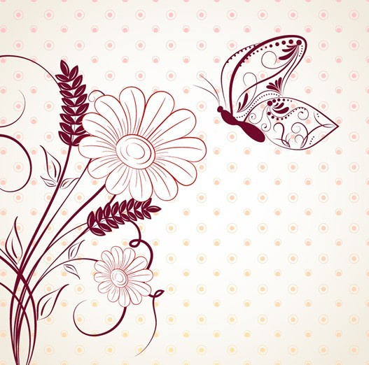 Simple and Clean Classic Florals and Flowers 02