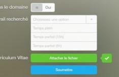 Flat Form Elements PSD