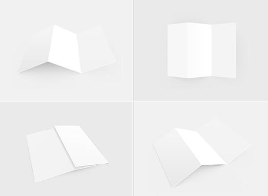 PSD & Vector Flyer Mockup Templates