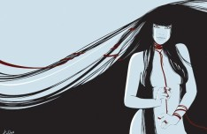 Vector Fashion Female Illustration 03