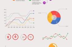 Magnolia Infographic Kit PSD