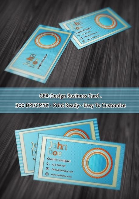 GFX-Design Business Card Template PSD