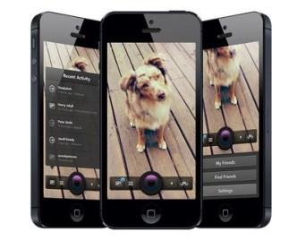 Snapchat Mobile App UI PSD