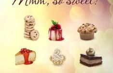 Sweet Dessert Icons