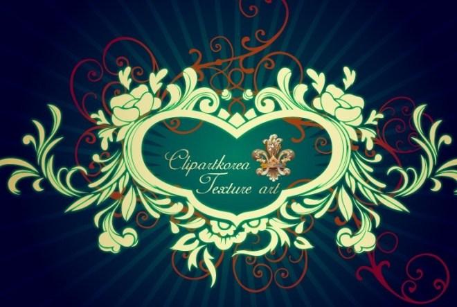 Vector Golden Royal Floral Ornamental Pattern 03