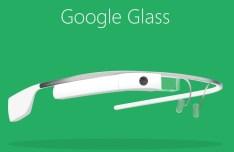 Flat Google Glass PSD Mockup