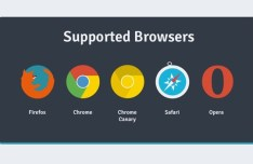 Flat Web Browser Icons