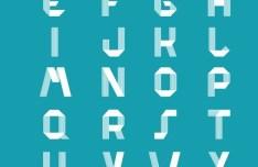 Ridge - A Free Unicase Typeface