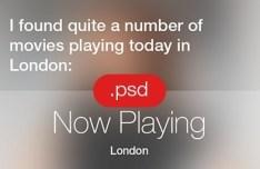 New iOS 7 Siri Interface PSD