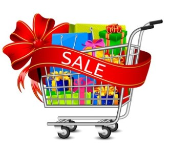 Fashion Shopping Bags Shopping Carts Vector 03