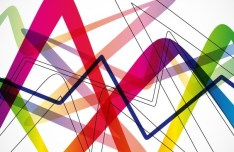 Colorful Abstract Zigzag Background Vector
