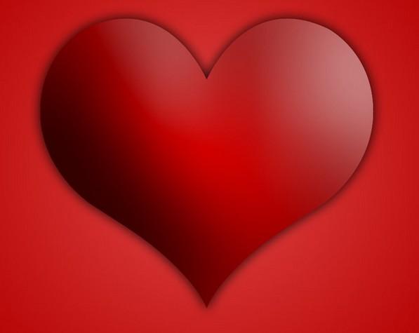 Red Heart PSD