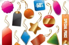 Set Of Sleek Special Price Tags and Labels