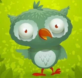 Cute Cartoon Owl Vector 01