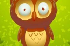 Cute Cartoon Owl Vector 02