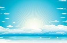 Vector Summer Sun Beach 03
