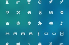 Video Game Icons Pack PSD