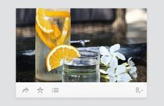 Minimal Product Viewer Widget PSD