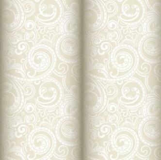 Noble Floral Damask Vector Patterns 01