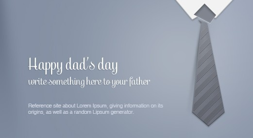 Free Fathers Day Greeting Card Template Psd Titanui