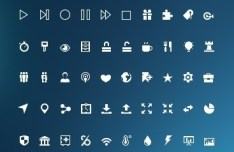 Mini Glyphs Icons Collection #2