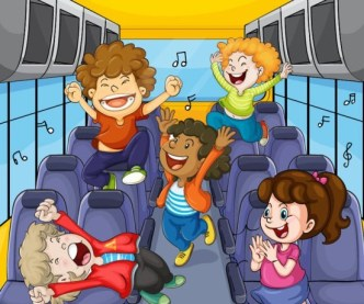 Vector Cartoon Animals and Children Illustration 05