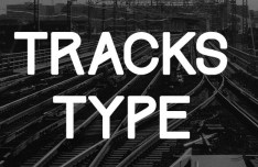 Free Font Track type