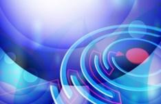 HI-Tech Abstract Maze Background Vector 02