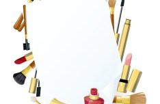 Set Of Vector Cosmetics Products 05