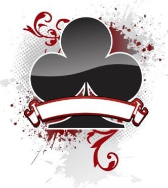 Creative Poker Playing Card Club Design Vector