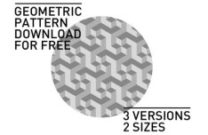 Light Grey Geometric Photoshop Patterns