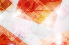 Colorful Abstract Grunge Background Vector 02