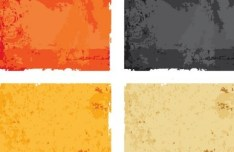 Set Of Colorful Vector Grunge Backgrounds 02