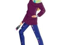Vector Fashion City Girls Illustration 05