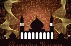 Vector Islamic Mosque Illustration 02