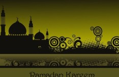 Vector Islamic Mosque Illustration 03