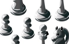 Vector Chess Design Elements Illustration 04